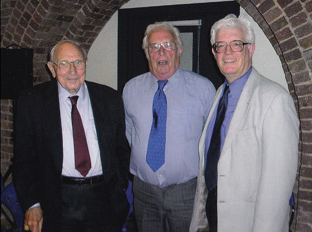 Jack Jones Charles Cherril Rodney Bickerstaffe at the Southwark Pensioners Forum conference 2005