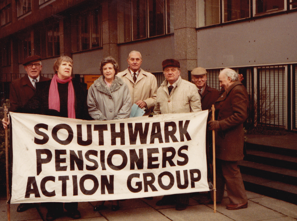 Southwark Pensioners Action Group SPAG c 1983-1984